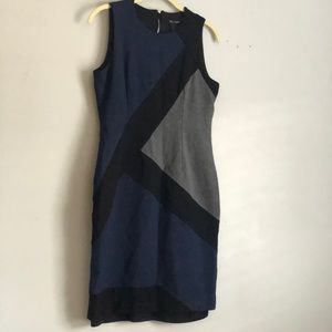 White House Black Market diagonal sheath dress
